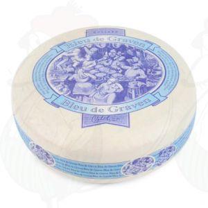 Blue de Graven - Hollandse Blauwschimmel Kaas | Extra Kwaliteit | Hele kaas 3,5 kilo