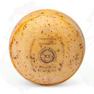 Boerenpond Kaasje Italiaanse kruiden | 400 gram