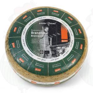 Brandnetelkaas Goudse Biologisch dynamische kaas - Demeter | Hele kaas 5 kilo