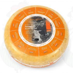 Fenegriek Goudse Biologisch dynamische kaas - Demeter | Hele kaas 5 kilo