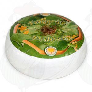 Geitenkaas Fenegriek | Extra Kwaliteit | Hele kaas 4,5 kilo
