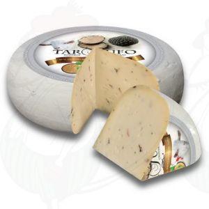 Geitenkaas Truffel - Tartufo | Hele kaas 5,4 kilo