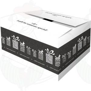 Verzenddoos / Geschenkverpakking Surprise Zwart
