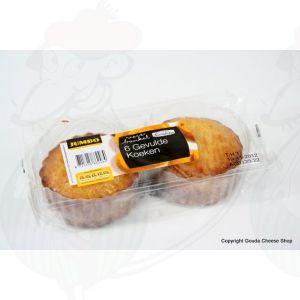 Gevulde koeken - Huismerk - 6 Stuks