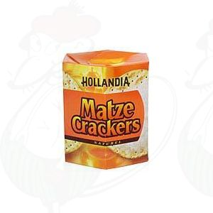 Hollandia Matze Crackers Naturel 16 stuks