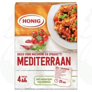 Honig Basis voor Macaroni en Spaghetti Mediterraan 46g
