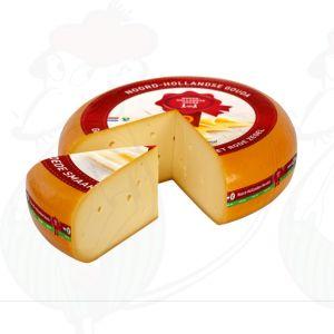 Jong Noord-Hollandse Gouda met het Rode Zegel | Hele kaas 12 kilo