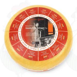 Jong Belegen Goudse Biologisch dynamische kaas - Demeter | Hele kaas 12 kilo