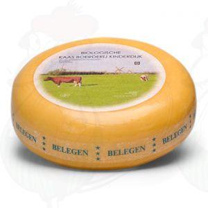 Belegen- Extra Belegen Biologische Kaas | Extra Kwaliteit | Hele kaas 5,4 kilo