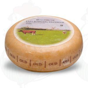 Oude Biologische | Hele Kaas Kinderdijk | Extra Kwaliteit | Hele kaas 4,5 kilo
