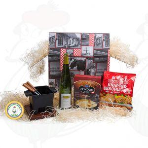 Gevarieerd tapas fondue geschenkpakket - Hollands