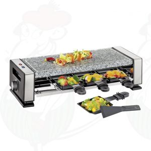 Küchenprofi - Raclette Vista8 met steengrillplaat