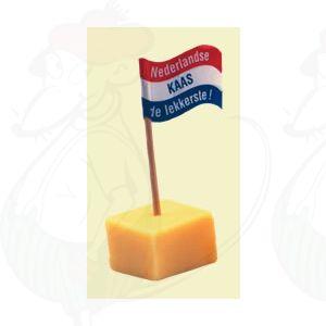 Hollandse Kaasprikkers 50 stuks - Kaasvlaggetjes