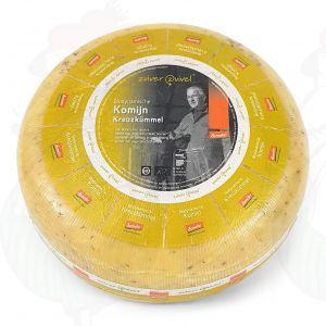 Komijnekaas Goudse Biologisch dynamische kaas - Demeter | Hele kaas 5 kilo