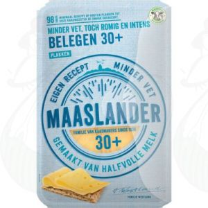 Gesneden kaas Maaslander kaas Belegen 30+ | 175 gram in plakken