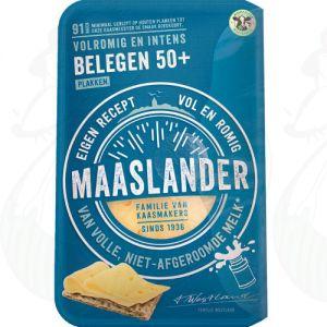 Gesneden kaas Maaslander kaas Belegen 50+ | 175 gram in plakken