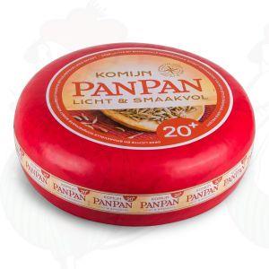 Pan Pan Kaas | Magere 20+ Komijnen Kaas | Extra Kwaliteit | Hele kaas 10,50 kilo