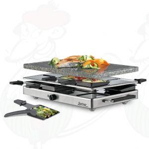 Spring - Raclette8 classic granieten plaat