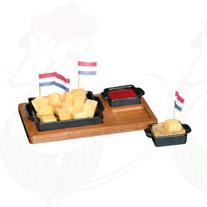 Tapas Cheese Cups Zwart
