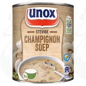 Unox Soep in Blik Stevige Champignonsoep 3 Porties 800ml