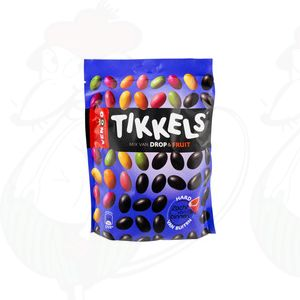 Venco Tikkels drop & fruit - 230 gr.