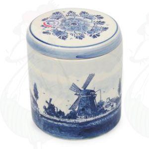 Voorraadpot Delfts Blauw Landschap