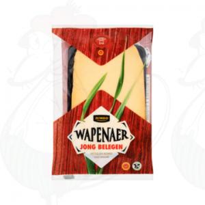 Gesneden kaas Wapenaer Kaas Jong Belegen 48+ | 175 gram in plakken