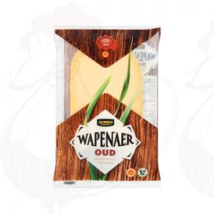 Gesneden kaas Wapenaer Kaas Oud 48+ | 150 gram in plakken